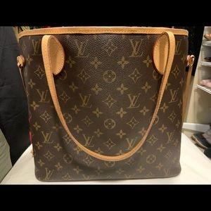 Louis Vuitton Never Full Tote Bag